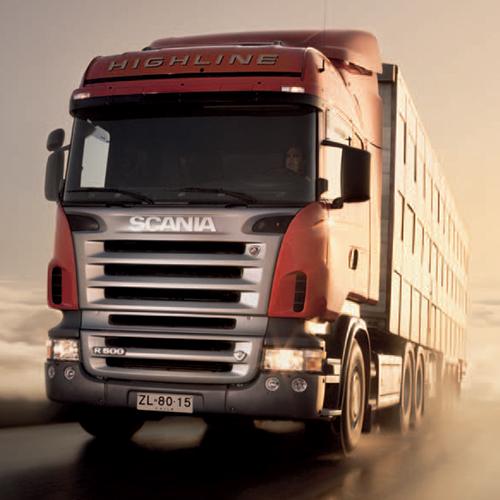 SCANIA DISTRIBUTION TRUCKS