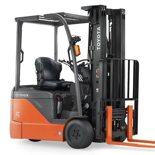 ELECTRIC 3-WHEEL/4-WHEEL FORKLIFTS 1T-3T