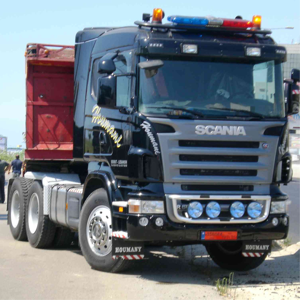SCANIA LONG HAULAGE TRUCKS